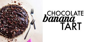 chocolatebananatart