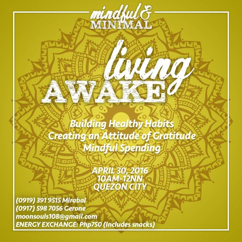 MndfulandMinimal- Living Awake